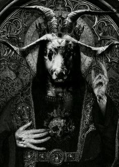 Baphomet/Moloch. I think that more people than just Muhammad  the false prophet have dealt with this devil/demon including Solomon and/or Knights Templar, Illuminati