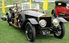 1912 Rolls-Royce Silver Ghost Barker Style Tourer #cars #RollsRoyce