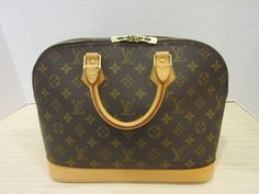 e09c09c6c5e5 Keeks Buy Sell Designer Handbags - Louis Vuitton Monogram Alma PM (P1)