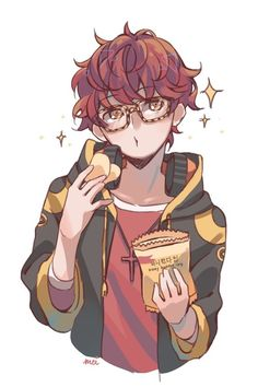 Most popular tags for this image include: mystic messenger and 707