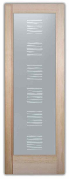 Sticks Private – Front Door with Glass 100% Opaque