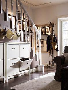 Clever Hallway Storage Ideas DigsDigs Rummet Pinterest - 63 clever hallway storage ideas