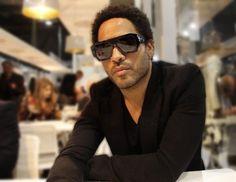 Lenny Kravitz – Au salon du design de Milan 2012