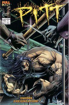 the pitt comic book