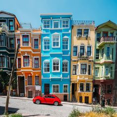 Color Balat Homes-Istanbul,Turkey // Photography by Onur Yuksel