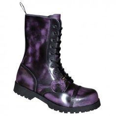 Boots & Braces 10-Loch Stiefel Rub-Off
