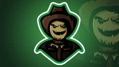 ScareCrow mascot / esports logo