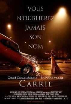 Film de Kimberly Peirce (2013) Timide et surprotégée par sa mère très pieuse, Carrie est une lycéenne rejetée par ses camarades. Le soir du bal de fin d'année, elle subit une humilation de trop. Carrie déchaîne alors de terrifiants pouvoirs surnaturels auxquels personne n'échappera…