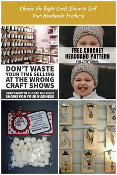 Don't waste your time selling at the wrong craft fairs. Here's how to choose the right shows for your craft business. crafts fair Choose the Right Craft Show to Sell Your Handmade Products