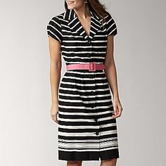 Love this dress! It gets me all pumped up to get want my business degree so i can where cute clothes like this!