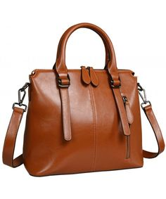 3131a01f014 Leather Shoulder Handbags Crossbody Handbag - Brown-r - CC128OJISLN  hobo   bags