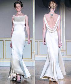 Robe KIM - Satin de soie lourd Dress KIM - Silk heavy satin