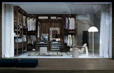 EGO walk-in closet by Poliform #closet #walk-in