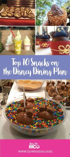 The top ten snacks you can get on the Disney Dining Plan. We are offering up a…