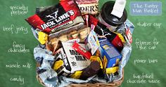 """perfect """"man basket"""" courtesy of Bower Power blog..next Easter? Father's day, sure thing :)"""