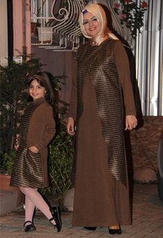 BendDubai BuTik Anne Kız Elbise Tesettür Giyimin öncüsü www.benddubaibutik.com