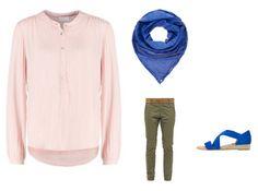 Tages-Outfit mit royalblauen Akzenten:  Holt euch jetzt einen Termin bei mir. Und zwar über folgenden Link: zln.do/luisa_s Neukunden-Voucher für 10 % Preisnachlass: RFFA6JSQ