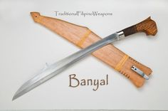 The Banyal is another light, quick, and devastating traditional Filipino Moro weapon, recently added to our combat blade arsenal.