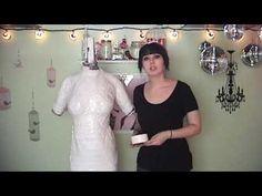 Tish.TV DIY // Duct Tape Dress Form