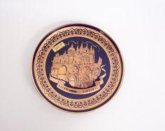 Vintage Salamanca Cathedral Plate Souvenir by LeVintageGalleria
