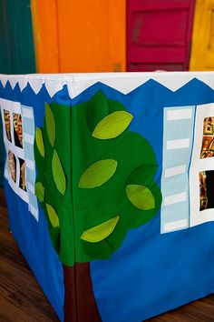 Card Table Playhouse Pattern   From the pattern by Empty Bob…   Flickr