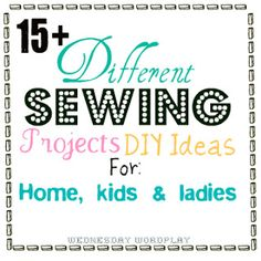 cute and useful sewing projects