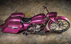 #misfitmade #pink #cancersucks #harleydavidson #harley #handmade  #shortneck #originalmisfitshortneck