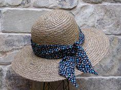 Floral Hatband or Handbag Purse Scarf Hair by PoePoePurses on Etsy, $10.50 #scarf #scarves #hairaccessory