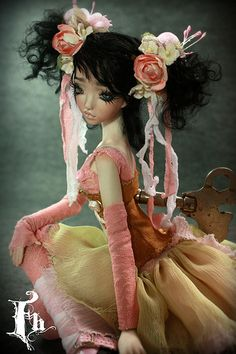 BJD Doll , one of a kind dolls by Aidamaris Roman Forgotten Hearts