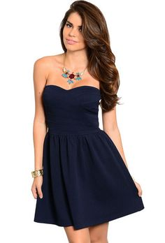 Andrea's Boutique Downtown Beauty Sleeveless Dress
