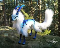 Cloud Antelope by CMWyvern Cut Animals, Unique Animals, Animals And Pets, Baby Animals, Cute Fantasy Creatures, Mythical Creatures, Animal Projects, Harry Potter, Cute Funny Animals