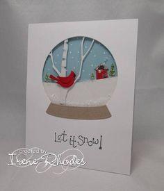 pop up snow globe card | PAPER CUTS | Pinterest | Globe, Snow and ...