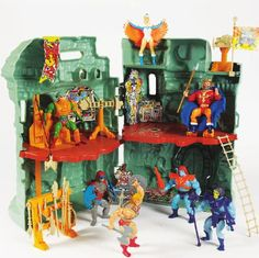 Castle Greyskull - my little brother owned this.