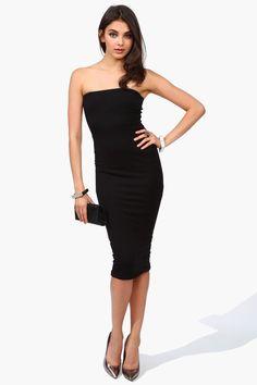 Helix Dress in Black.