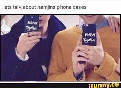 I love NamJin but I wanna be happy together with RapMonnie tho