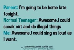 Bahahaha!!! Anyone who knows me knows I'm exactly like that!!