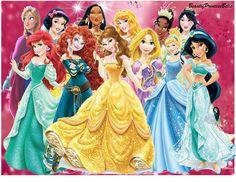 Disney Princesses New Look With Princess Anna by BeautifPrincessBelle.deviantart.com on @deviantART