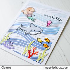The Avery Elle Waves Elle-ments die is the star of the show on my post this week. I've created two very different cards to show how versatile cover dies can be. For the first card, I blended …