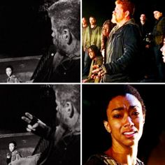 The Walking Dead Season 7 Ep. 1 'The Day Will Come When You Won't Be'  Abraham & Sasha