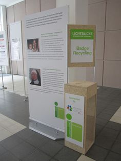 IMEX 2012 Name Badge Recycling CSR program