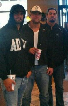 Three Guys are Very Handsome and I'd Totally Believe in The Shield.