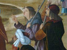 Details of painting Renaissance, Louvre, Portraits, Artwork, Painting, Beard Hat, Holy Land, Men Portrait, Face