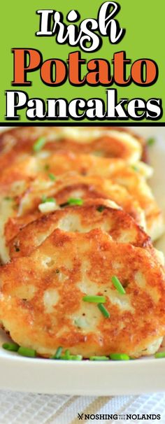 These Irish Potato Pancakes are a family favorite that was grandma's recipe straight from Ireland as she knew it. These Irish Potato Pancakes are a family favorite that was grandma's recipe straight from Ireland as she knew it. Side Dish Recipes, Gourmet Recipes, Cooking Recipes, Healthy Recipes, Side Dishes, Grandma's Recipes, Aloo Recipes, Milk Recipes, Copycat Recipes