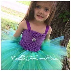 Ariel tutu dress mermaid tutu dress little by CaitlinsTutusandBows