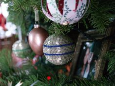 Bugle Bead Ornament