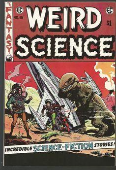 WEIRD SCIENCE #15 AL WILLIAMSON + EC Classic Reprint #2 Comics East Coast 1973