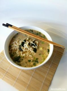 Guilt-Free Low Carb Instant Noodles This recipe is vegan, gluten free, fast, low carb, low calorie, high fiber and filling. http://www.damyhealth.com/2012/09/guilt-free-low-carb-instant-noodles/