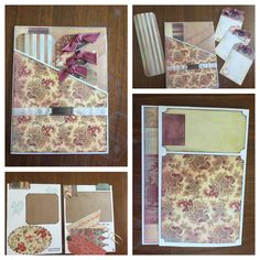 National Scrapbook Day 2016 Insert #10 created by crafter  Lanae Miller.