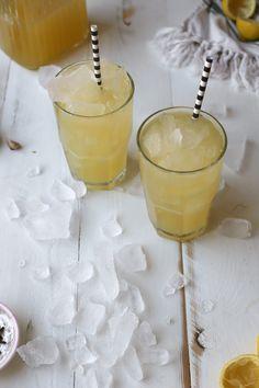 Winter Lemonade With Ginger and Cloves by joythebaker: Winter elixir. #Lemonade #Healing