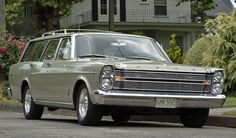 1966 Ford Country Sedan. I love old muscle car station wagons.